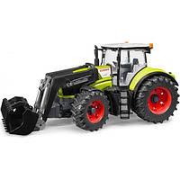 Игрушка Bruder 03013 трактор Claas Axion 950 с погрузчиком