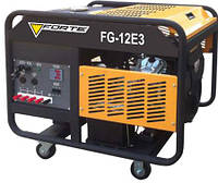 Электрогенератор бензиновый 9 кВт., 3 фазы, электростартер, Forte FG12E3 (69964)