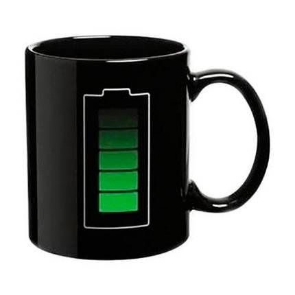 """Чашка з індикатором """"Хамелеон"""" керамічна 320 мл, фото 2"""