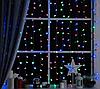 Гирлянда прозрачный шарик 40LED 5м (флеш) 18мм, Новогодняя бахрама, Светодиодная гирлянда, Уличная гирлянда