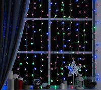 Гирлянда прозрачный шарик 40LED 5м (флеш) 18мм, Новогодняя бахрама, Светодиодная гирлянда, Уличная гирлянда, фото 1