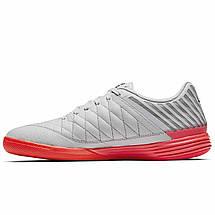 Футзалки Nike LunarGato II 580456-060 Белый 45.5 (29.5см), фото 2