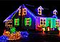 Гирлянда точка матовый 300LED 25м Микс (RD-7174), Новогодняя бахрама, Светодиодная гирлянда, Уличная гирлянда, фото 2