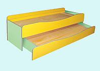 Кровать детская 2-ярусная выдвижная