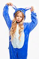 Пижама кигуруми Стич для детей Funny Mood 130 СМ Синяя
