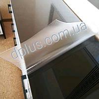 Пленка мягкое стекло силиконовая на стол ПВХ, толщина 2мм, текстурированная рифленая плёнка 25х65 см