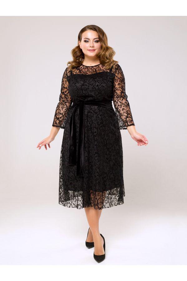 Платье на корпоратив Новый год с 50 по 56 размеры
