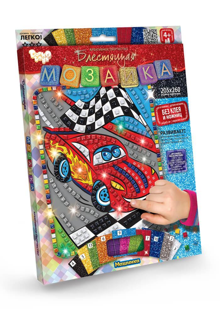 Блестящая мозаика Машинка (БМ-02-09)