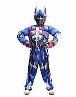 Детский костюм робота трансформера Оптимус Прайм optimus р.100-150