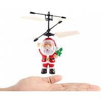 Летающая игрушка Дед Мороз без пульта