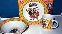 Куклы ЛОЛ посуда 3в1, фото 1