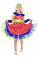 Детский карнавальный костюм для девочки «Стиляга» 100-140 см несколько цветов, фото 1