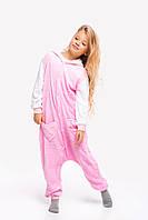 Пижама кигуруми Hello Kitty для детей Funny Mood 120 СМ Розовая