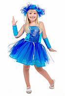 Детский карнавальный костюм для девочки «Тучка в пачке» 100-130 см, голубой, фото 1