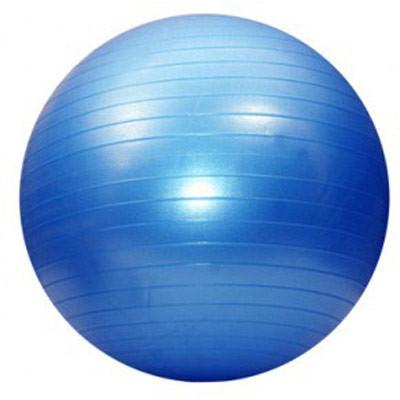 Фитбол (мяч для фитнеса)  Gym Ball 55 см (с насосом) синий