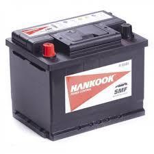 Автомобильный аккумулятор Hankook 6СТ-62 SMF 56220