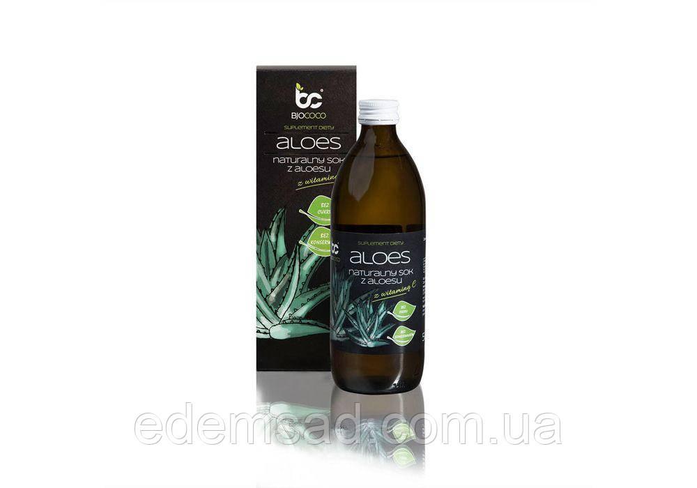 Сок алоэ BJCOCO с витамином С, 0,5 л