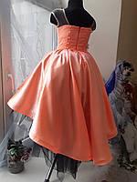 Дитяче плаття Сакура. Ексклюзивне плаття в єдиному екземплярі підійде на ріст 122-128-134, фото 3