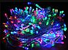 Гирлянда 100LED 10 м (контрол.220V) (БП) Микс, Новогодняя бахрама, Светодиодная гирлянда, Уличная гирлянда