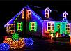 Гирлянда кристал 1,8 40LED 5м (флеш) ЧП RGB, Новогодняя бахрама, Светодиодная гирлянда, Уличная гирлянда, фото 4