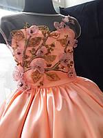 Детское платье Сакура. Платье эксклюзивное в единственном экземпляре подойдет на рост 122-128-134, фото 4