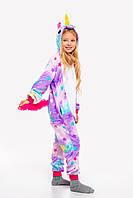 Пижама кигуруми Единорог Звездная для детей Funny Mood 130 СМ Разноцветная