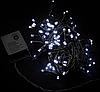 Гирлянда 100LED 10м (контрол.220V) (ЧП) Белый, Новогодняя бахрама, Светодиодная гирлянда, Уличная гирлянда, фото 6