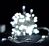 Гирлянда 100LED 10м (контрол.220V) (ЧП) Белый, Новогодняя бахрама, Светодиодная гирлянда, Уличная гирлянда, фото 7