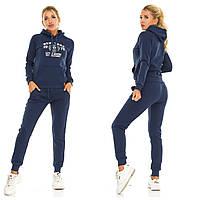 Женский теплый спортивный костюм с капюшоном.Размеры:42,44,46,48. +Цвета, фото 1