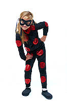 Детский карнавальный костюм для девочки «Анти Баг» 115-125 см, черный, фото 1