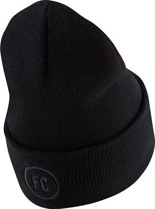 Шапка зимняя Nike FC Beanie CK1766-010 Черный (193152657489), фото 2