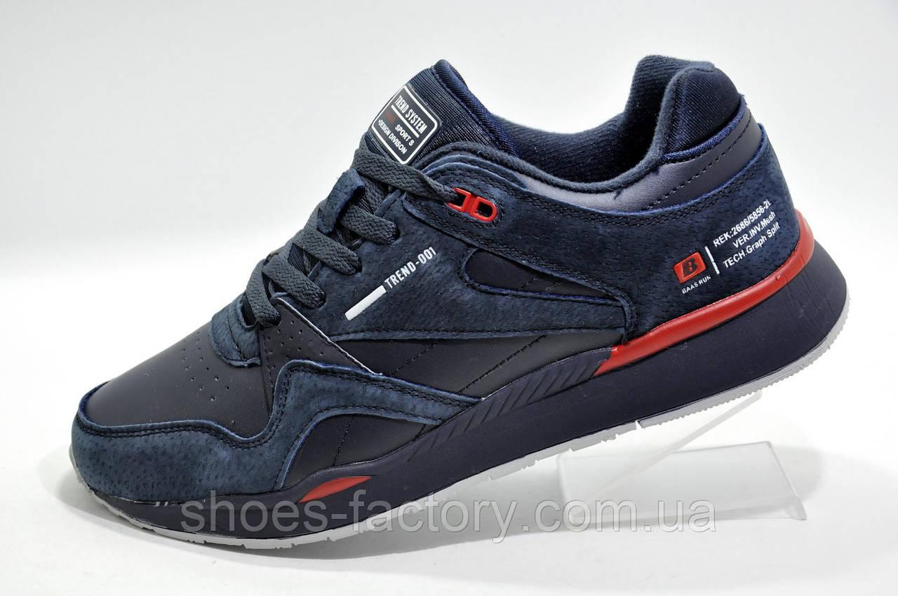 Кроссовки мужские Baas 2020, Dark Blue\Red