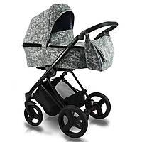 Универсальная детская коляска 2 в 1 Bexa Ultra Style V серая