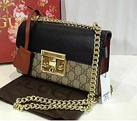 Женская сумка Gucci Гуччи трехцветная