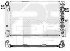 Радиатор Мерседес 212 09-12 (E-CLASS) / MERCEDES E-Class W212 (2009-)