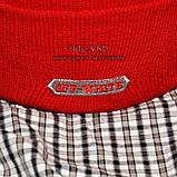 Хайповая мужская шапка Off-White красная Турция Офф вайт Хайповая Новинка 2020 года зима Молодежная реплика, фото 3