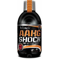 Предтренировочный комплекс BioTech AAKG Shock Extreme (0,5 л)