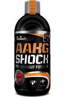 Предтренировочный комплекс BioTech AAKG Shock Extreme (1 л)