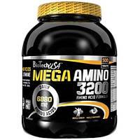 Аминокислоты BioTech Mega Amino 3200 (500 таб)