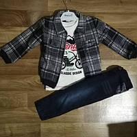 Костюм для мальчика с джинсами от 2 до 4 лет