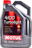 Моторное масло Motul 4100 Turbolight 10W-40 5L