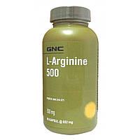 Предтренировочный комплекс GNC L-Arginine 500 (90 капс)