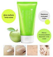 Яблочный пилинг-скатка Mizon Apple smoothie peeling gel