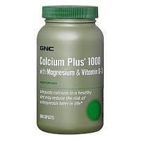 Минеральный комплекс GNC Calcium Plus 1000 with Magnesium & Vitamin D-3 (90 таб)