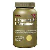 Аминокислоты GNC L-Arginine & L-Citrulline (120 капс)
