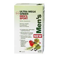 Витамины для мужчин GNC Ultra Mega Green Mens Sport (60 таб)