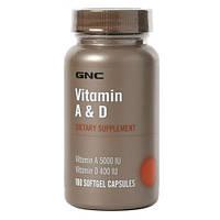 Витаминный комплекс GNC Vitamin A & D (100 капс)