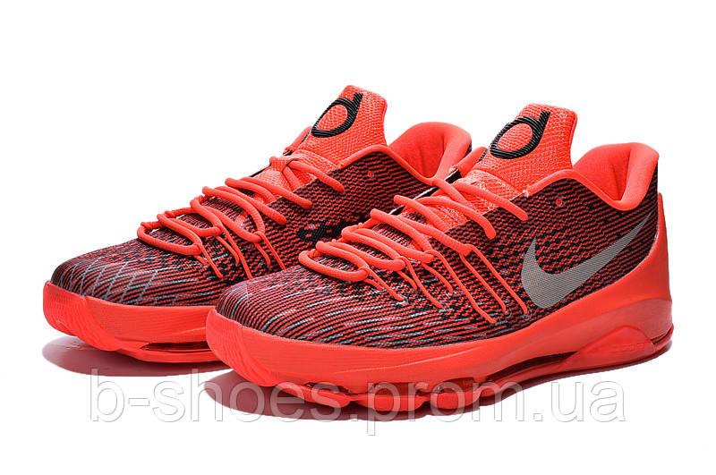 Мужские баскетбольные кроссовки Nike KD 8 (Red)