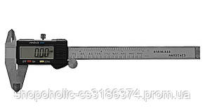 Электронный штангенциркуль Generic с LCD экраном, микрометр в кейсе + батарейки
