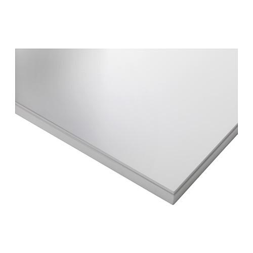 "ИКЕА ""КЛИМПЕН"" Столешница, белый 120x60 см"